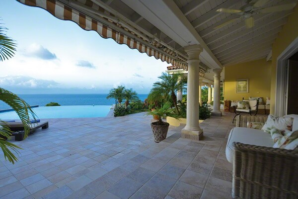 Villa Amber lies within St. Martin's most prestigious community of Terres Basses.