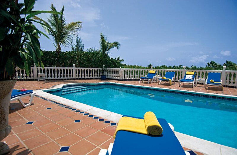 Villa Belle Mer is a magnificent four-bedroom villa overlooking Orient Bay, St. Martin.