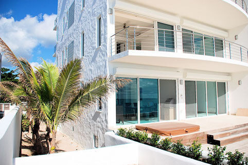 Aqualina Beach Club, St. Maarten's newest luxury beach front residence at Simpson Bay