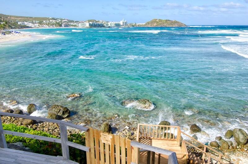 Dutch St Maarten Dawn Beach Ocean Front Beach House Younes