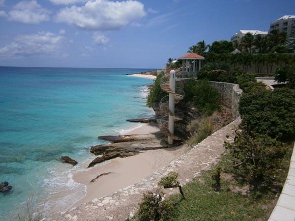 Cielo Azurro Beach Front Penthouse Cupecoy St Maarten