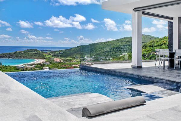 Villa Crystal is an 3 bedroom, 3 1/2 bath private villa located in Red Pond Estates (Gibbs Bay)- Tamarind Hill area on the eastern side of St. Maarten.