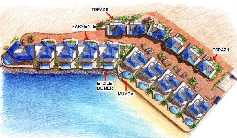 A lavish four bedroom beachfront villa Farniente located on Cupecoy Beach, St Maarten A lavish four bedroom beachfront villa Farniente located on Cupecoy Beach, St Maarten