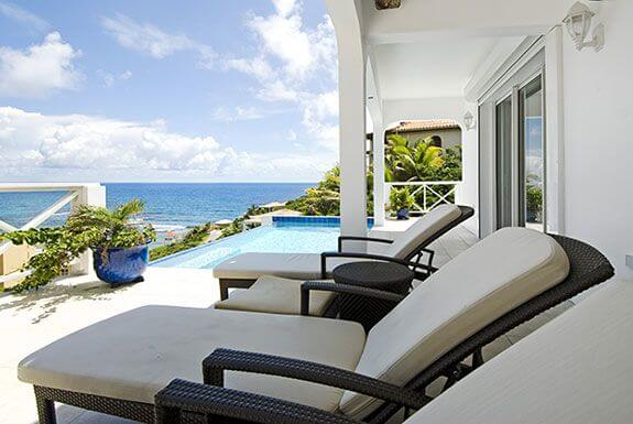 Twin Palms at Dawn Beach, St Maarten