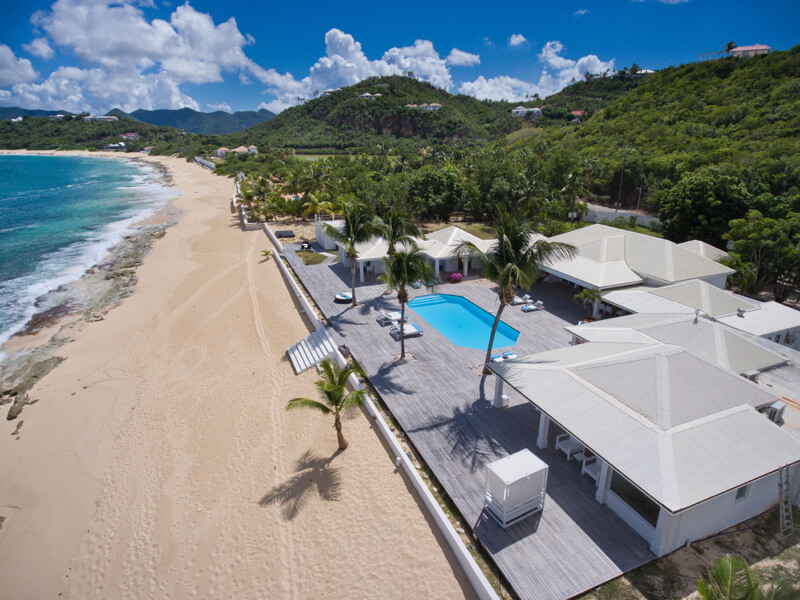beachfront villa Interlude, St Martin