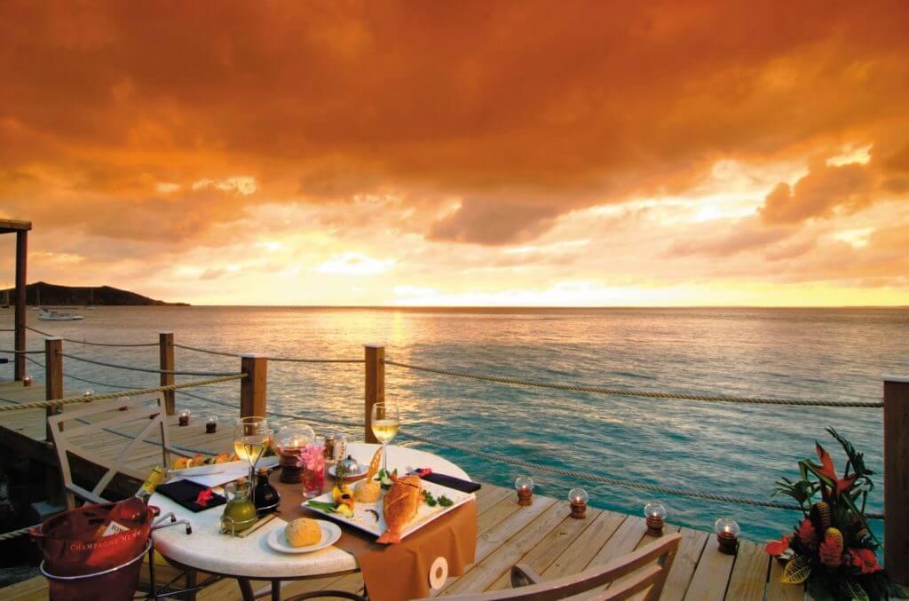 Sint Maarten staat bekend als de cullinaire hoofdstad van het Caraïbisch gebied
