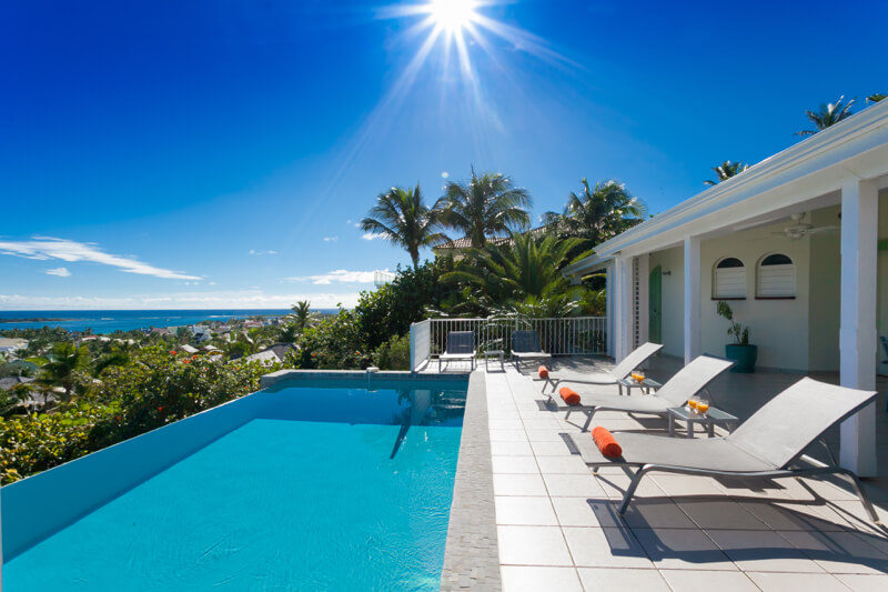 Oceanview villa La Sarabande, orient Bay, St Martin