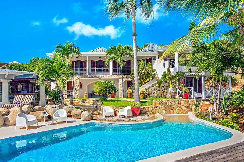 St Maarten Villas Luxury Villa Rentals Blueoceanvillas