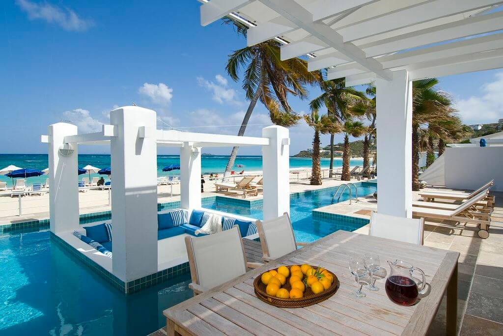 Beachfront Villa Seastar direkt am Dawn Beach St Maarten