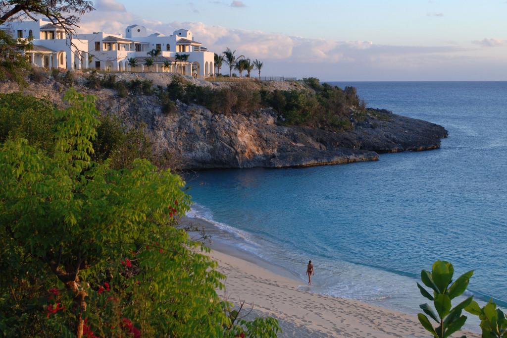 Villas de lujo exclusivas directamente en la playa en La Samanna Villas
