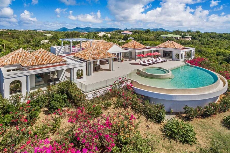 French St Martin Terres Basses Ocean Views Just In