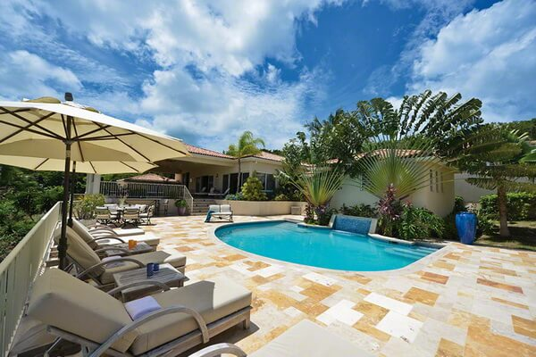 French st martin terres basses villa maison de reve for Villa de reve