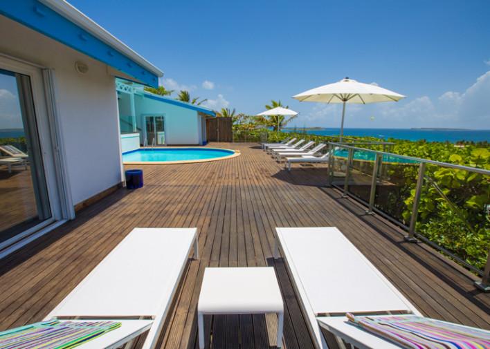 French St Martin Orient Beach Villa Mango