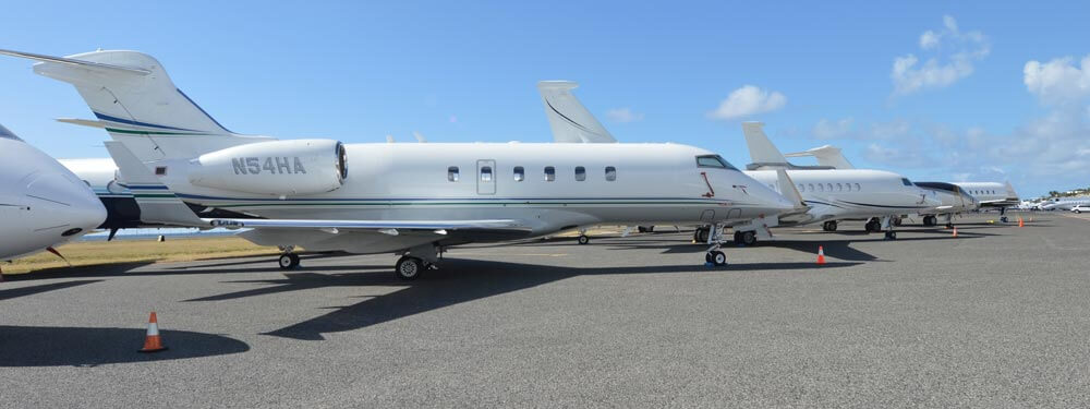 Private jet charters to St Maarten