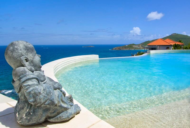 Villa Sky Blue in Dawn Beach estates, St Maarten