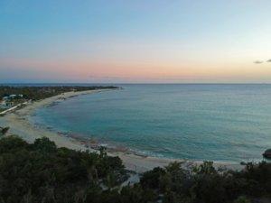 Plum Bay beach St Martin post hurricane Irma