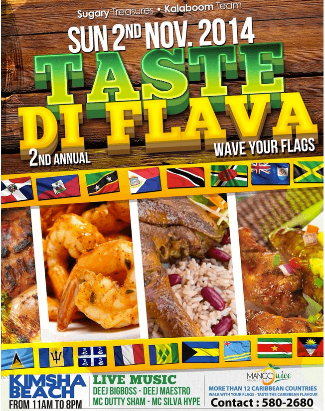 Caribbean food fest in St Maarten