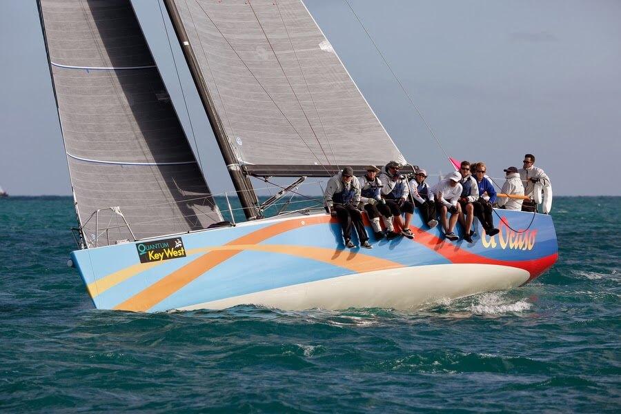 Rick Weslund's El Ocaso wins the 2014 St Maarten Heineken regatta