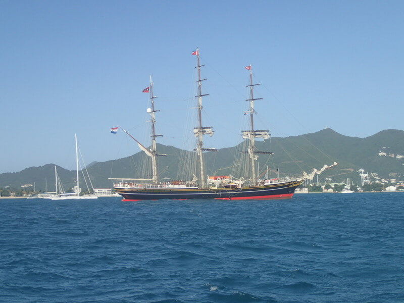 Tallship Amsterdam in St Maarten