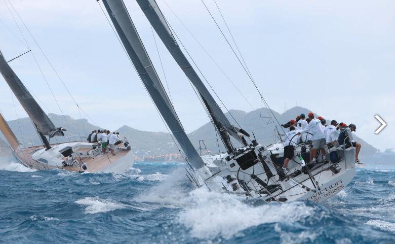 St Maarten Heineken regatta sailing