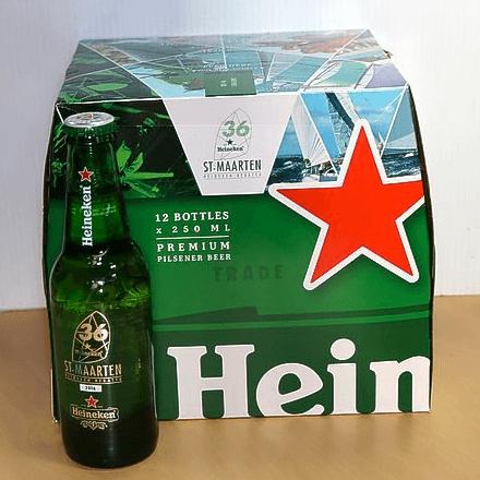 New heineken label for the St maarten heineken regatta