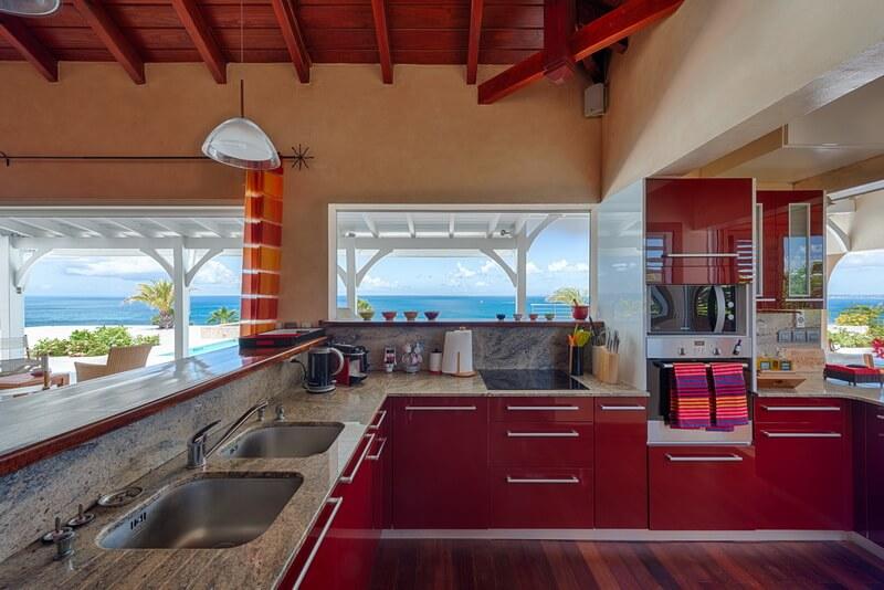 kitchen Villa Dreamin Blue