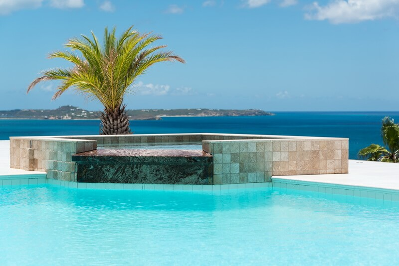 Infiniti pool Villa Dreamin Blue