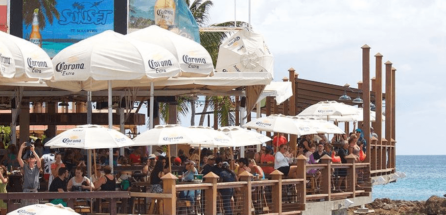 The Best Beach Bars Of St Maarten