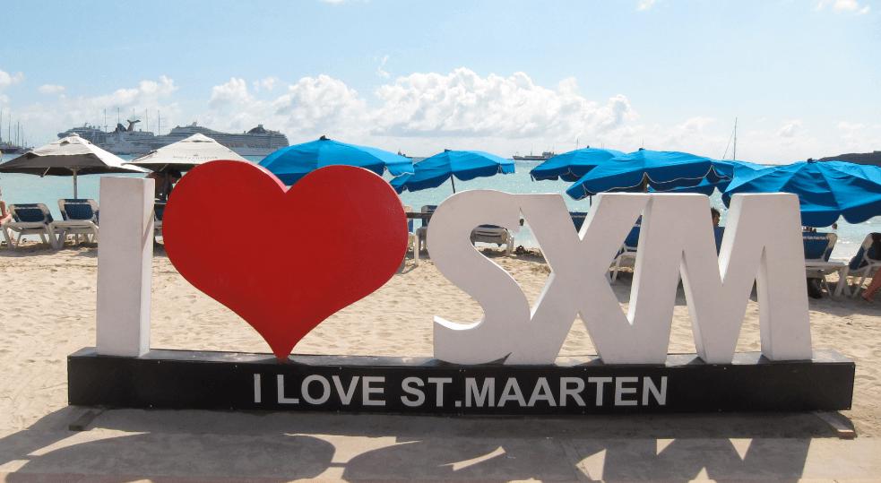 Love in St Maarten