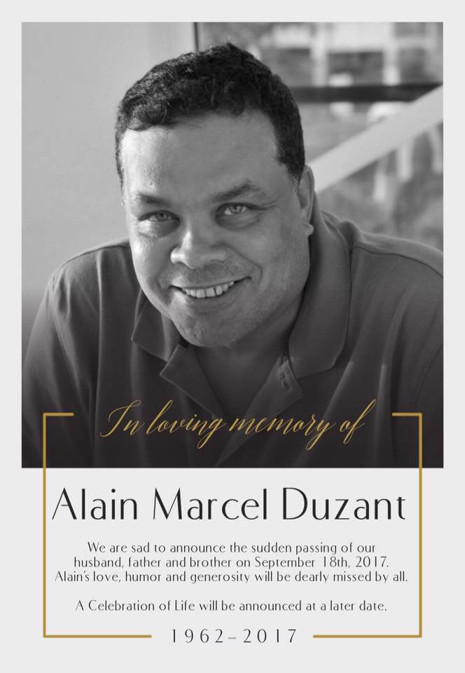 in memoriam Alain Duzant, SXM Photography
