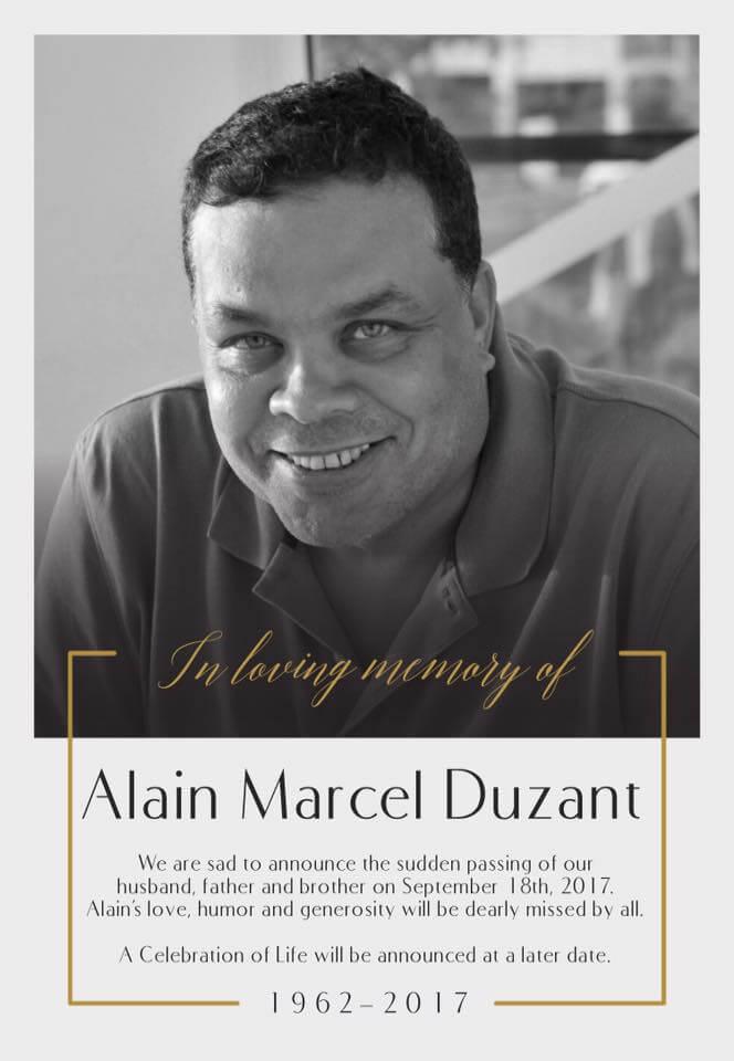 in memoriam Alain Duzant, SXM Photography